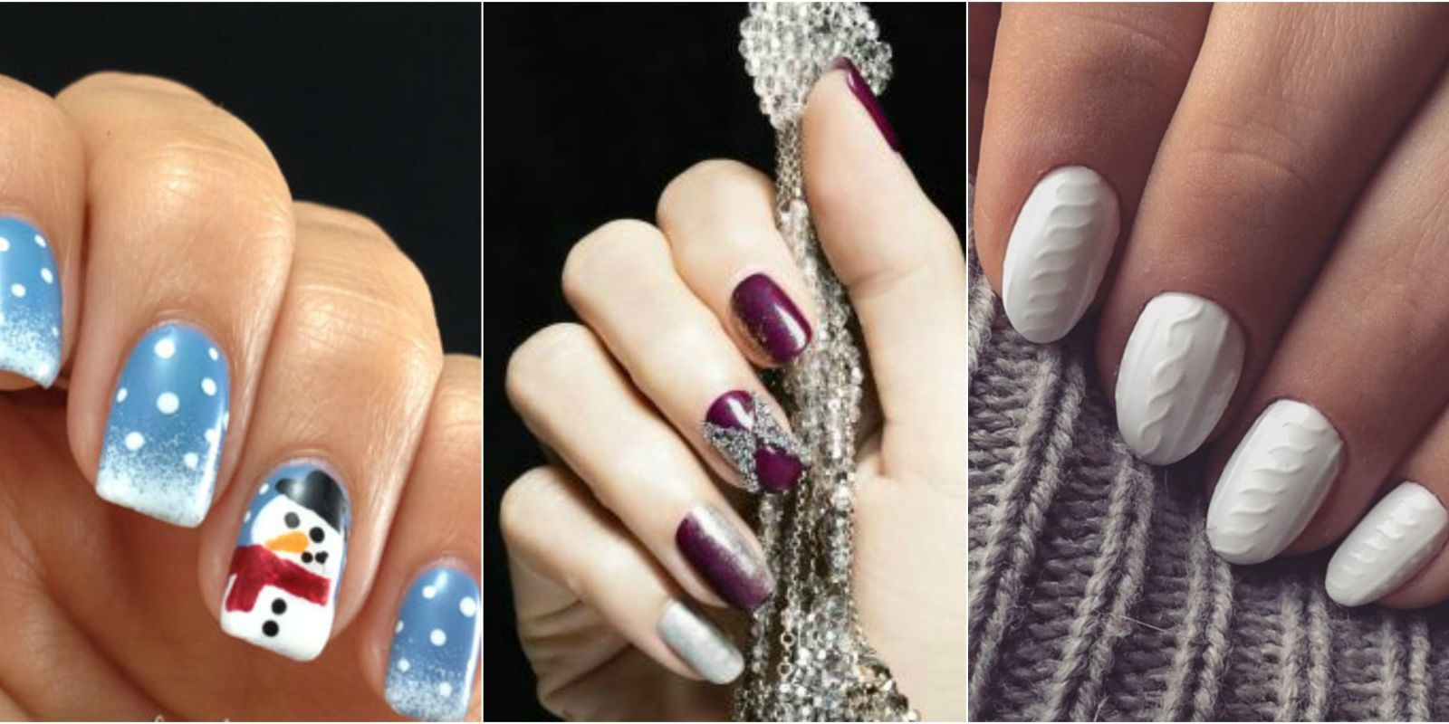 Winter Nail Designs - YourBeautyCraze.com